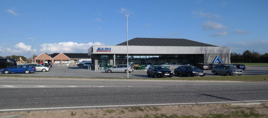 Aldi dagligvarebutik i Hune – 1230 m²