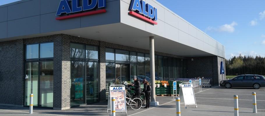 Aldi dagligvarebutik i Aabybro – 1200 m²